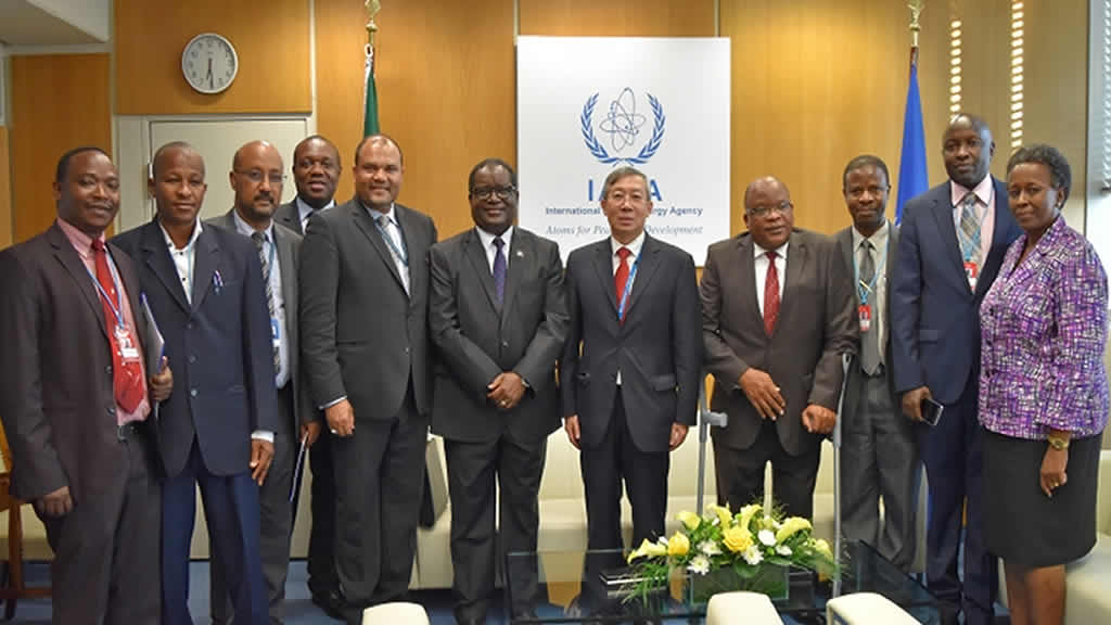 IAEA and URT have Signed Tanzania's Country Programme Framework (CPF) for the period of 2018 – 2022