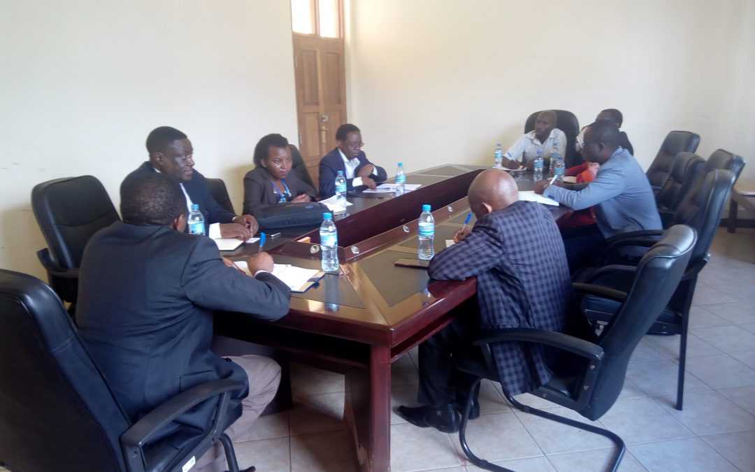 Visit Of The Delegates From University Of Dar Es Salaam-Mbeya College Of Health And Aliened Sciences (UDSM-MCHAS) At TAEC