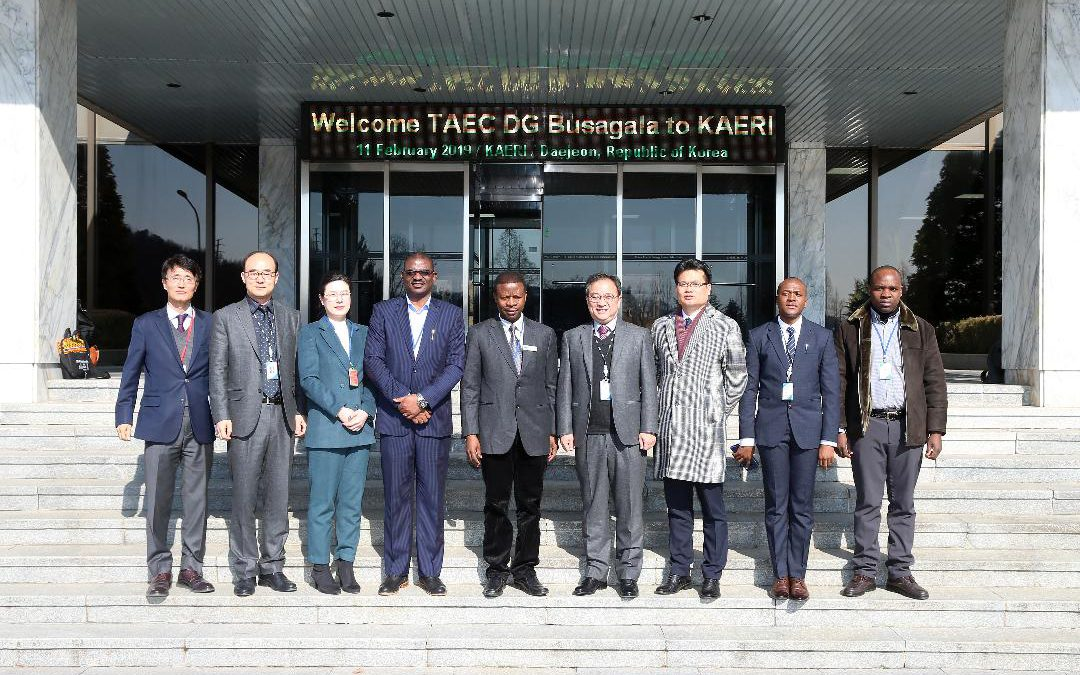 Tanzania Strengthen' Radiation Technology Cooperation' With Korea