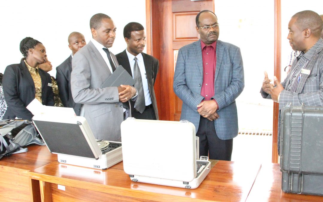 Dr. Leonard Akwilapo, Permanent Secretary, Ministry of Education, Science and Technology Visited TAEC