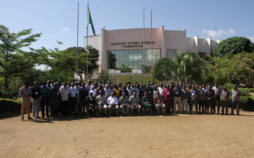 80 radiation workers from medical facilities administering radiation sources for diagnosis and treatment are attending the Advance Radiation Safety Training Course at the Tanzania Atomic Energy Commission (TAEC) Head Quarters, Arusha