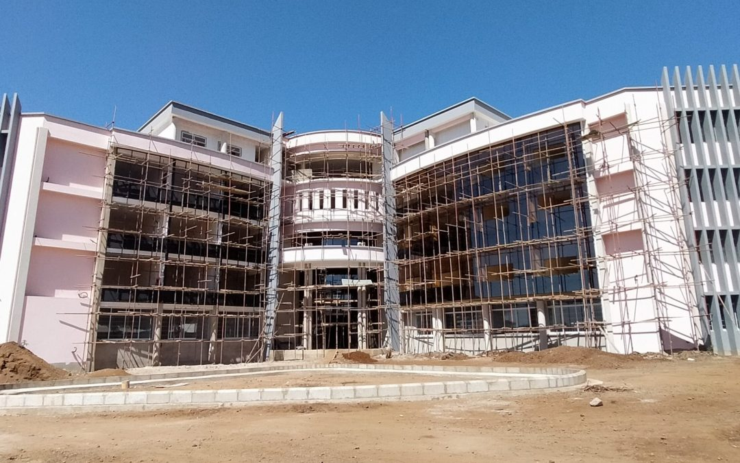 TAEC 2nd Phase Mega Laboratory Complex at the Finishing Stage